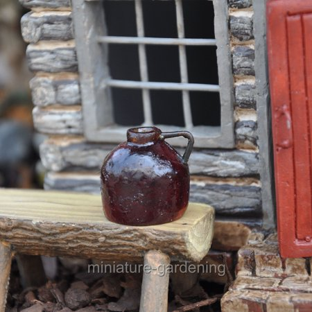 Miniature Ale Jug for Miniature Garden, Fairy Garden