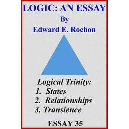 Logic An Essay  Ebook  Walmartcom Logic An Essay  Ebook Essay Writing High School also High School Entrance Essay Examples  Research Essay Thesis