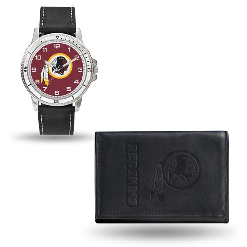 NFL Washington Redskins Leather Watch/Wallet Set by Rico Industries