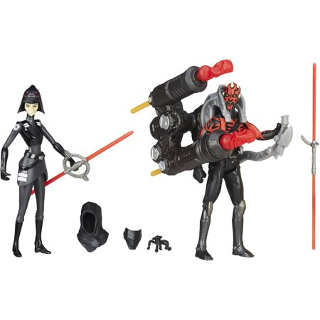 Star Wars Rebels Seventh Sister Inquisitor vs. Darth - Darth Maul Devil