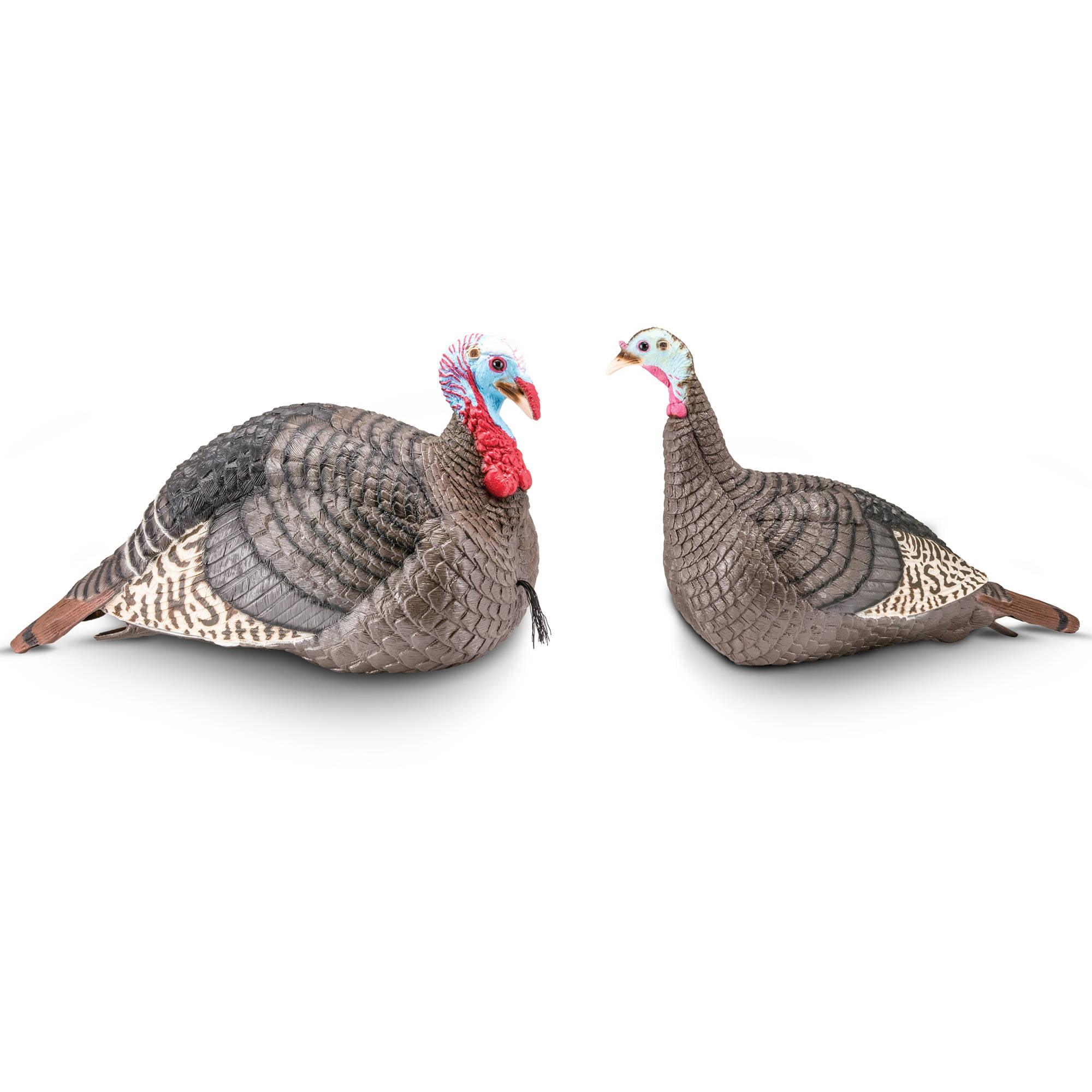 Hunters Specialties 100006 Strut-Lite Flock Decoy 3-Pack