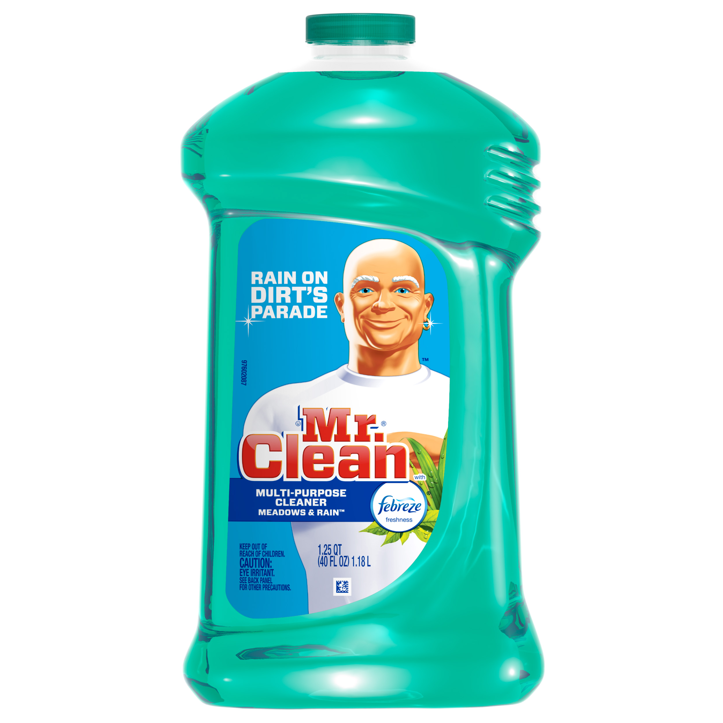 All purpose bathroom cleaner - Mr Clean Liquid All Purpose Cleaner With Febreze Meadows And Rain 40 Oz