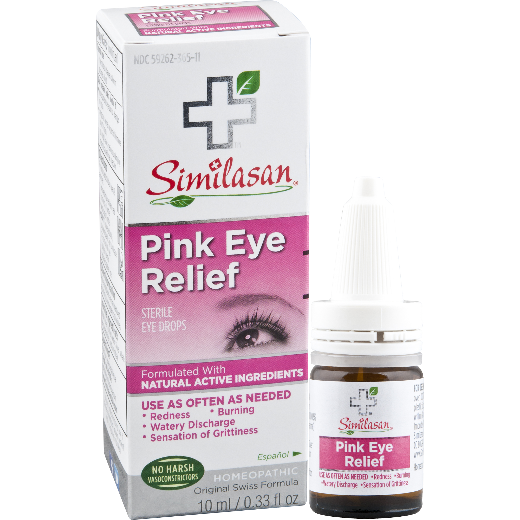 Similasan Pink Eye Relief Sterile Eye Drops, 0.33 fl. oz.