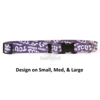 TCU Horned Frogs Nylon Collar - X-Small