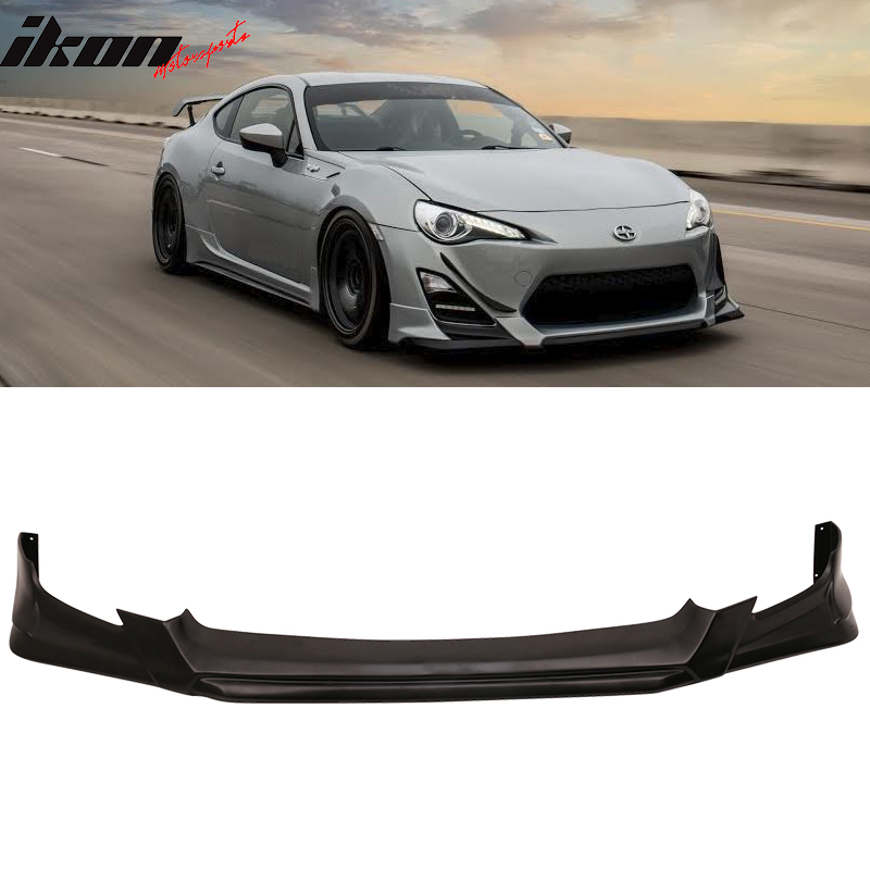 Urethane Front Bumper Lip for Scion FRS GT86 2013-2016 A-Style Front Lip