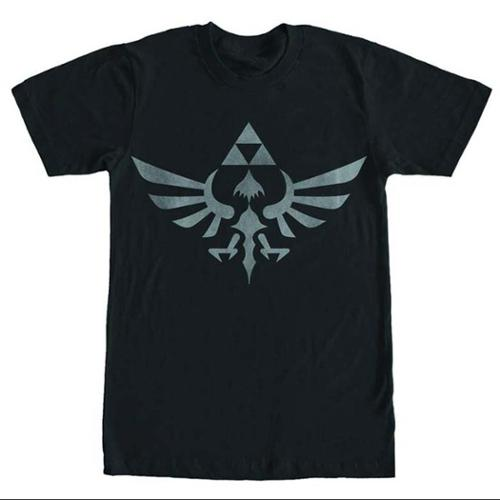 Skyward Sword Triforce Logo Black T-Shirt