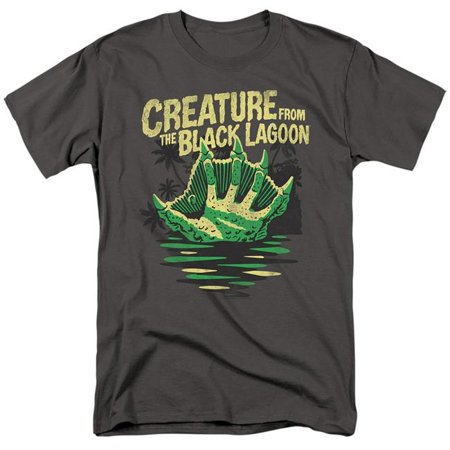 Trevco Sportswear UNI1247-AT-7 Universal Monsters & Creature Breacher-Short Sleeve Adult 18-1 T-Shirt, Charcoal - 4X - image 1 of 1