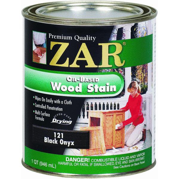 UGL 1 Quart Black Onyx Zar  Oil Based Wood Stain 12112