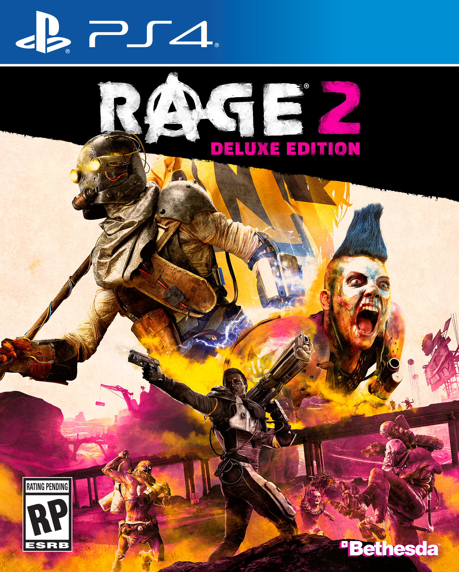Rage 2: Deluxe Edition - PlayStation 4