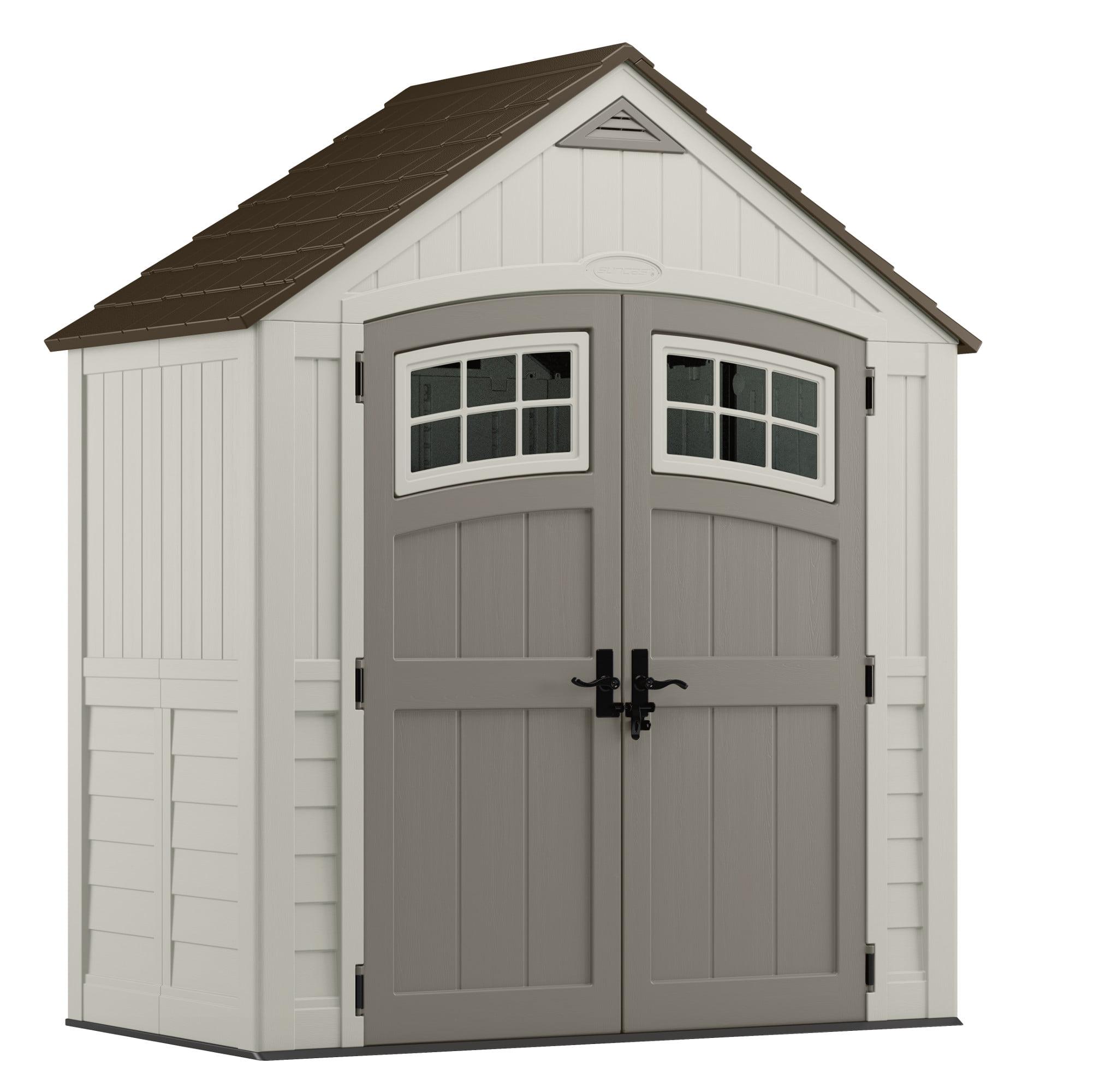 Suncast 171 cu. ft. Cascade® 7x4 Storage Shed, BMS7400D