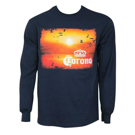 Corona Extra Long Sleeve Sunset Tee Shirt