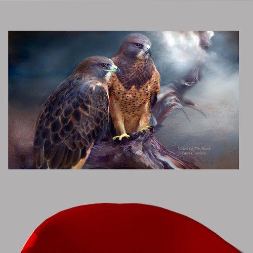 Wallhogs Cavalaris Vision of The Hawk I Wall Mural