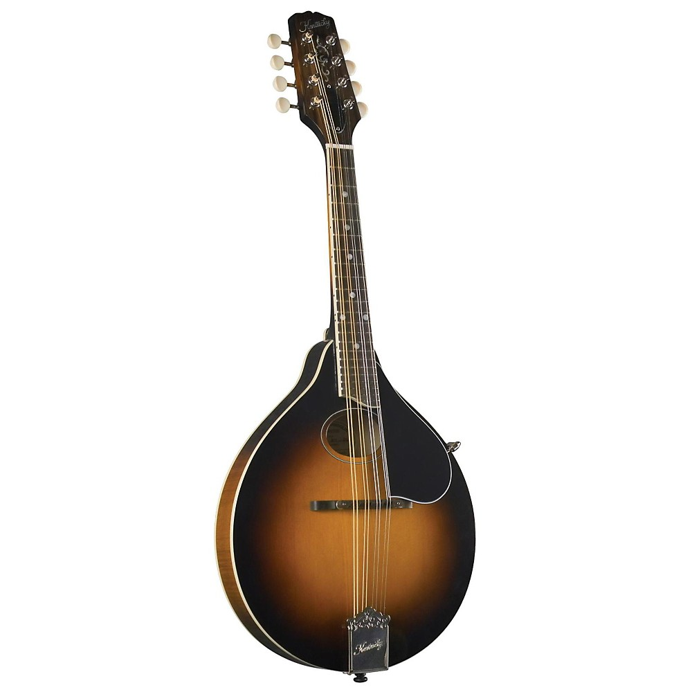 Kentucky KM-270 Artist Oval Hole A-Model Mandolin, Sunburst by Kentucky