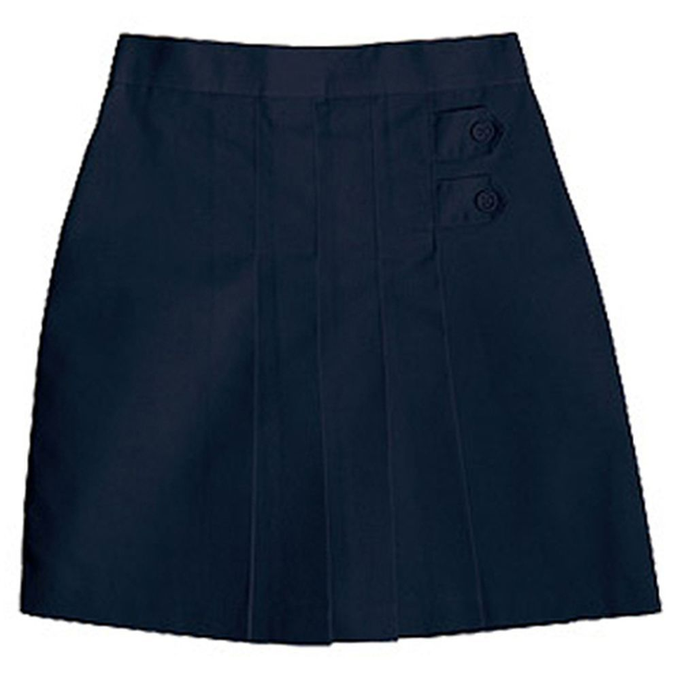 Black 9 Lee Uniforms Juniors Classic Skirt