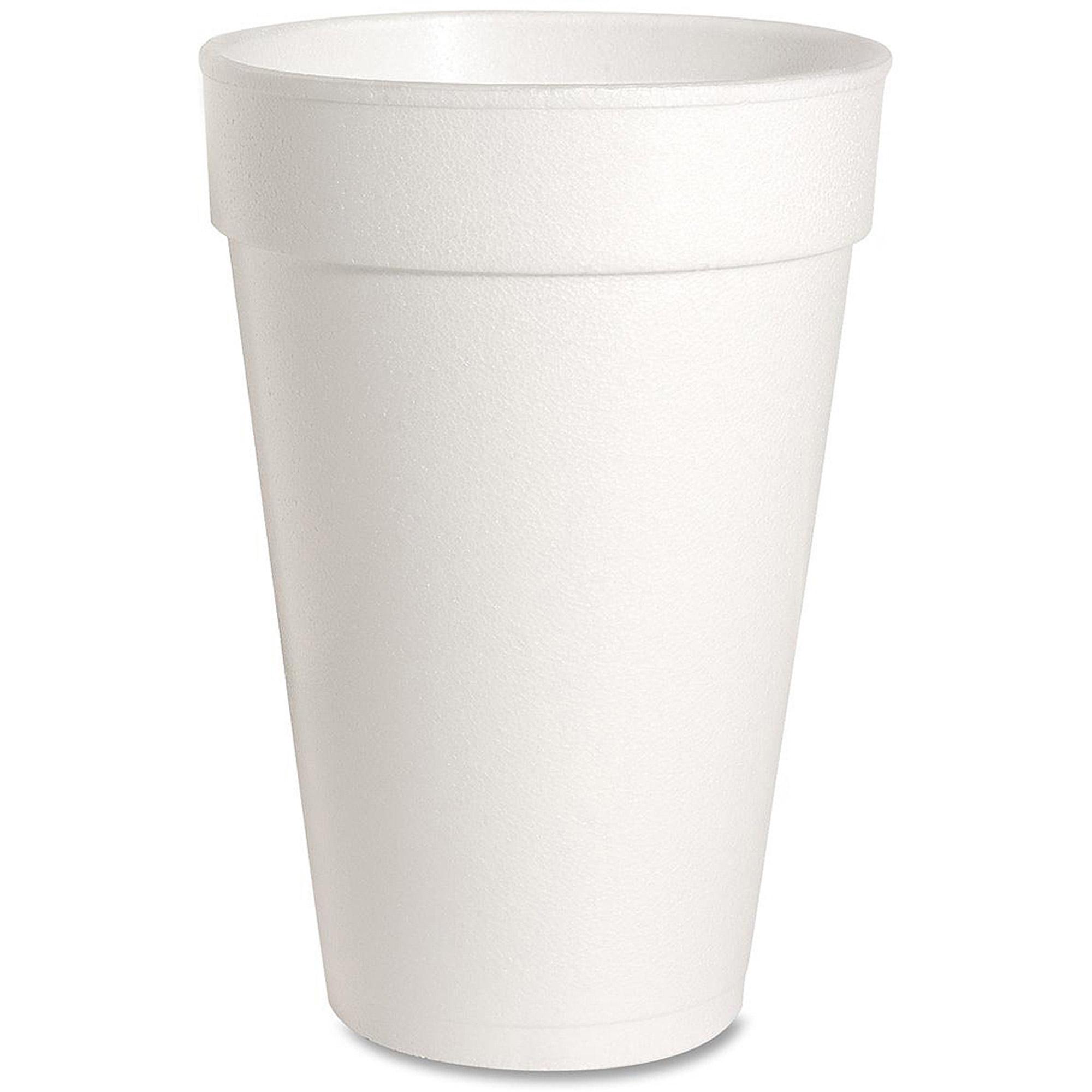 Genuine Joe Hot/Cold Foam Cups, 16 oz, 500 count