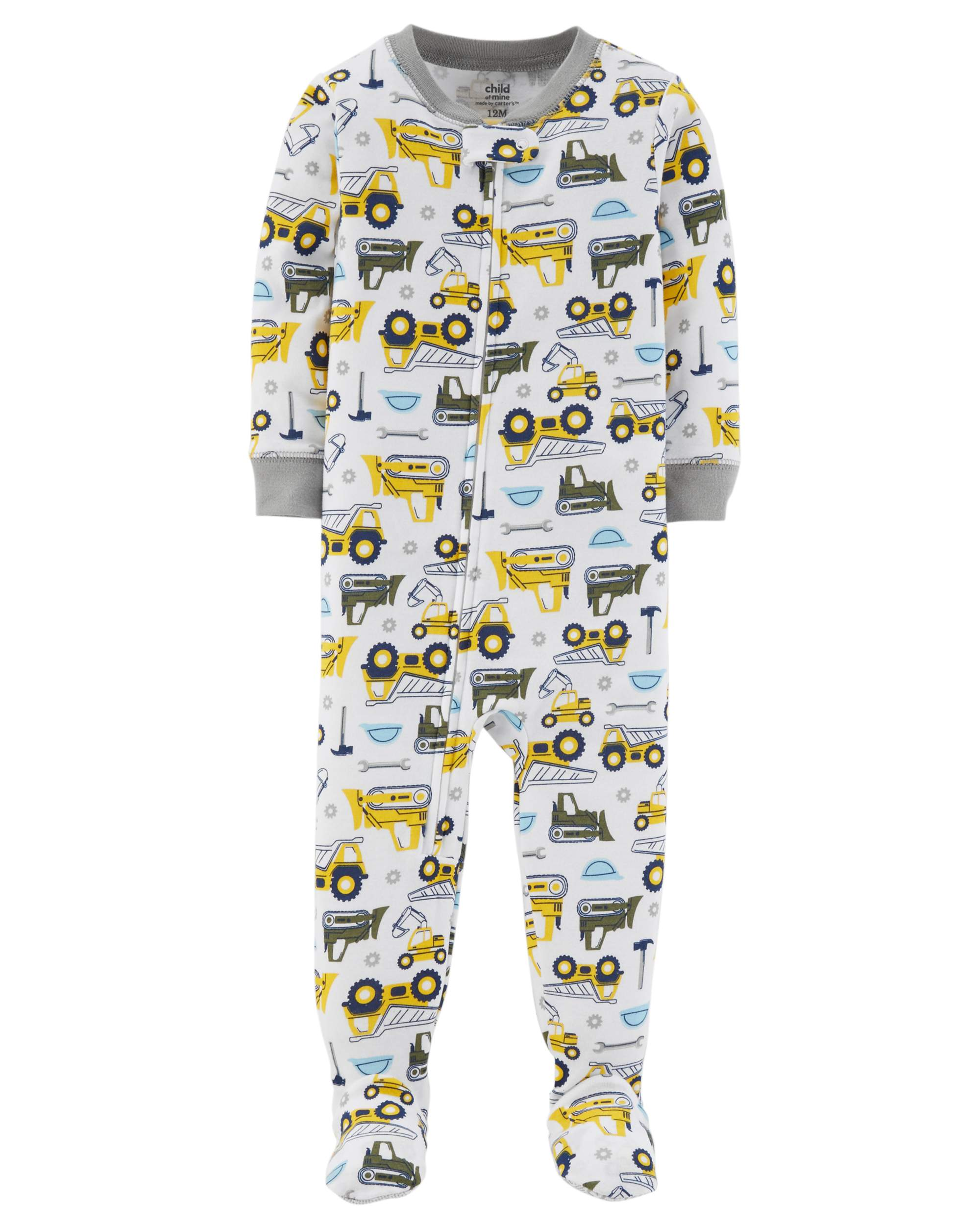 95c646820 Child of Mine by Carter's - Child of Mine by Carter's Baby boy one piece  footed pajamas - Walmart.com