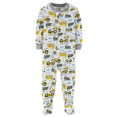 59148c9a84e1 Child of Mine by Carter s - Baby Boy One Piece Footed Pajamas ...