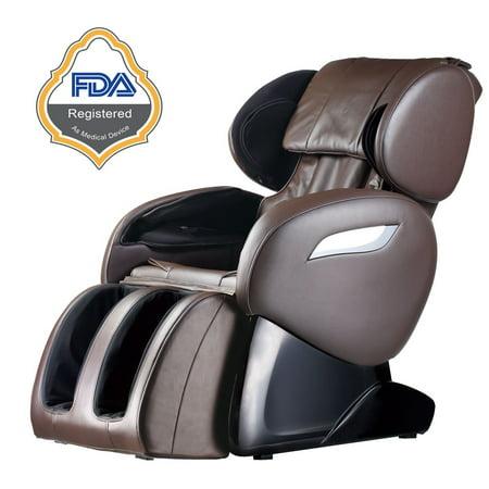 BestMassage Electric Full Body Massage Chair Foot Roller Zero Gravity w/Heat