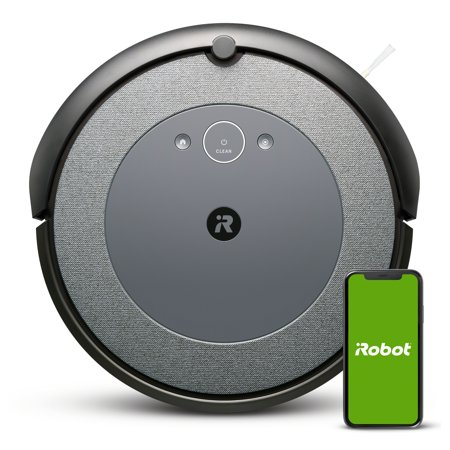 iRobot® Roomba® i3 (3150) Robot Vacuum - Wi-Fi® Connected Mapping, Works with Alexa, Ideal for Pet Hair, Carpets
