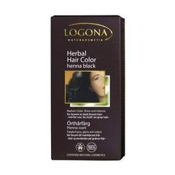 Logona - Hair Color,  Henna Black, 3.5 oz