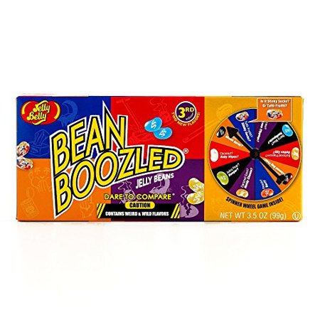 Jelly Belly BeanBoozled Game 3.5 oz each (4 Items Per Order) - Bean Boozeled