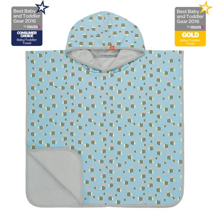 Beach Poncho - Bumble Bee 12-36 mo