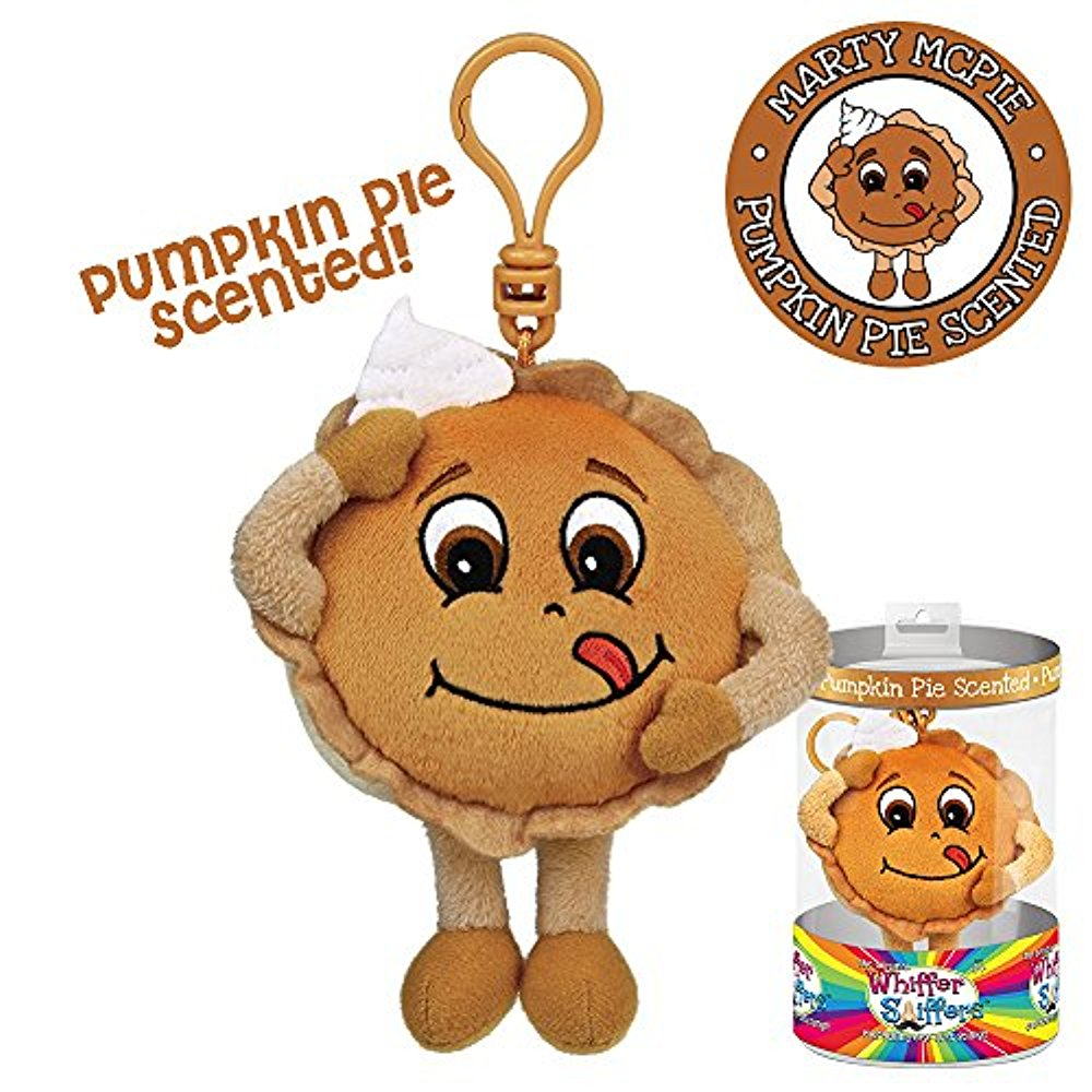 Whiffer Sniffers Marty McPie Pumpkin Pie Scented Backpack Clip