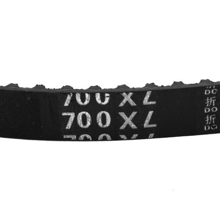 700XL 350 Teeth 10mm x 5.08mm Rubber Timing Geared Belt for Stepper Motor Black - image 1 of 3