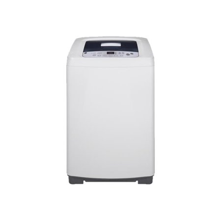 GE SPACE SAVING 2.6 CU. FT. STATIONARY WASHING MACHINE, WHITE