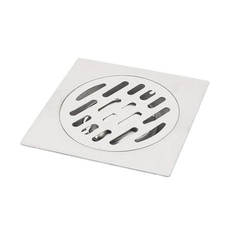 Kitchen Bathroom Shower Sink Square Floor Drain Outlet Waste Grate Strainer  3\