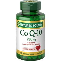 Nature's Bounty Co Q-10 Tablets, 200 Mg, 80 Ct