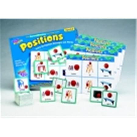 Trend Enterprises Positions Match Me Game - Set 16 Position Concepts & Photographs ()