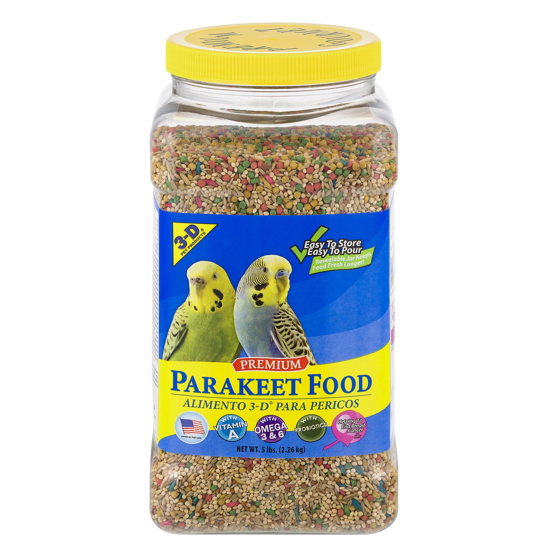 3-D Pet Products Premium Parakeet Food, 5.0 LB by D & D Commodities Ltd.