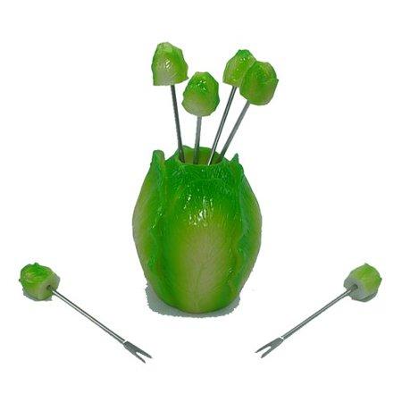 Winston Porter 7 Piece Roman Lettuce Cabbage Elegant Food Decoration Set