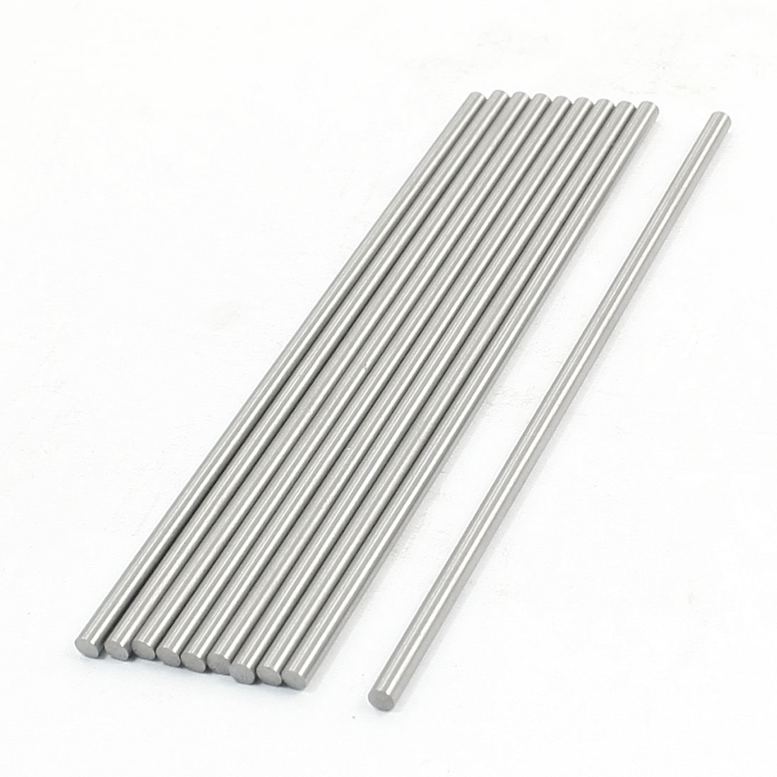 Unique Bargains 10 Pcs HSS High Speed Steel Round Turning Lathe Bars 2.8mm x 100mm by Unique-Bargains