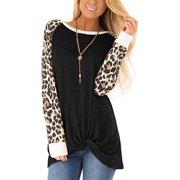 Women's Pockets Casual Plain Flowy Simple Swing T-Shirt Loose Dress