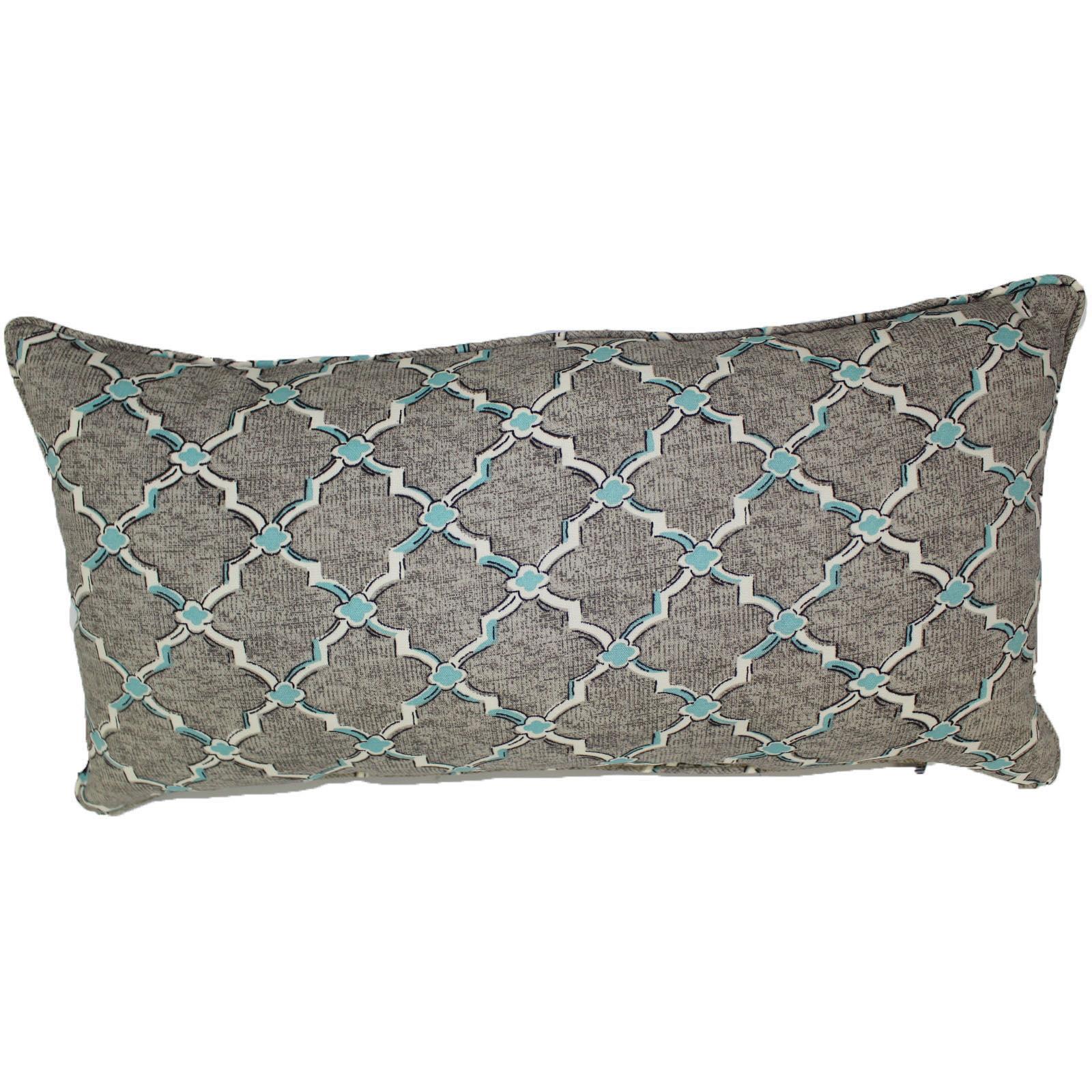 "lava Lattice Indoor Outdoor Pillow, 12"" x 24"" by Lava"