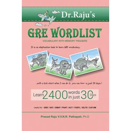 Gre Word List: Vocabulary with Memory Triggers - eBook (Halloween Words List)