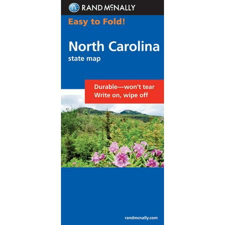 Easy finder map north carolina - folded map: 9780528994821
