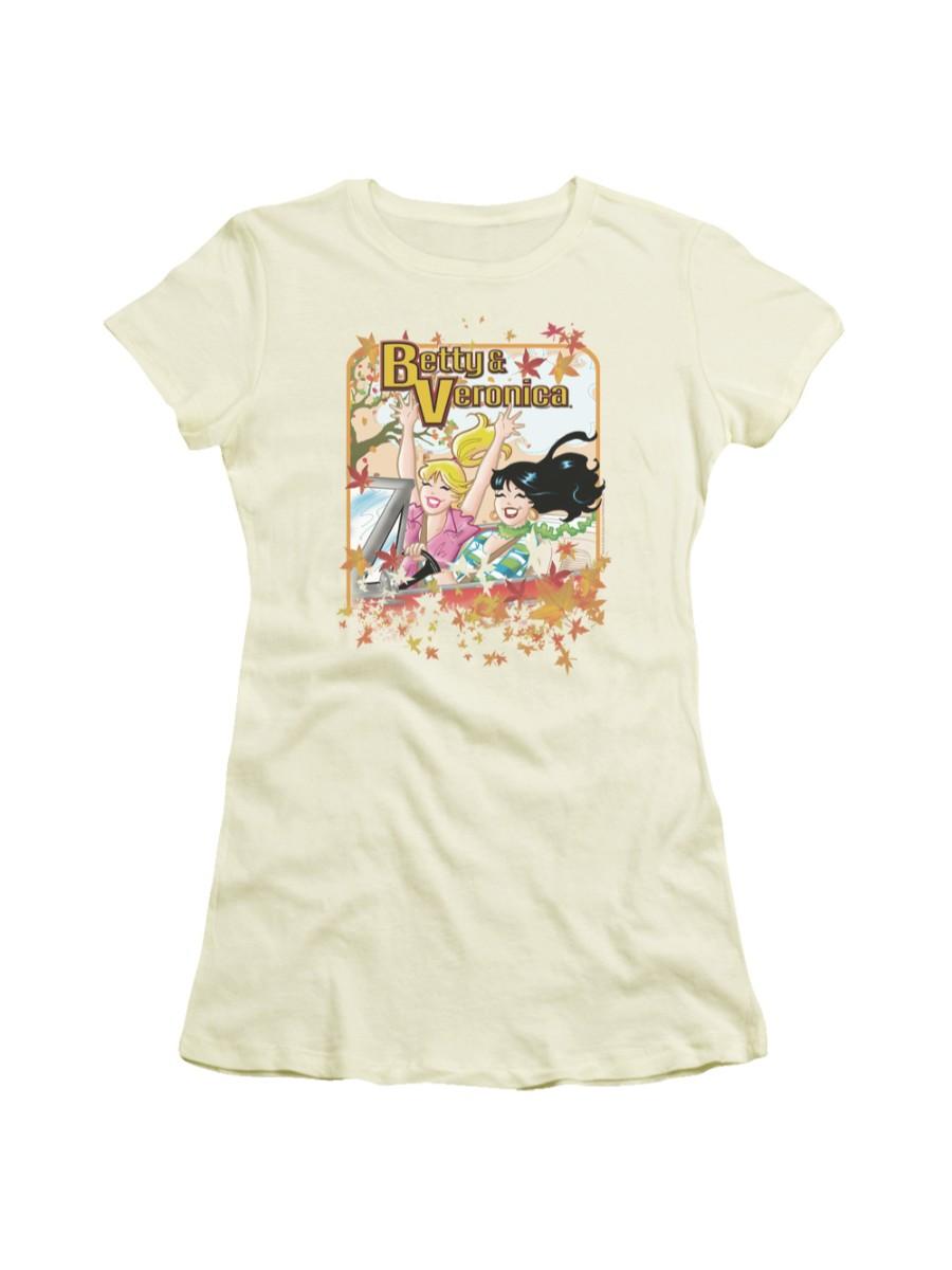 Archie Comics Josie and the Pussycats Stars Juniors Sheer T-Shirt Tee
