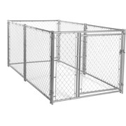 Lucky Dog 4`H x 5`W x 10`L Modular Chain Link Kennel Kit