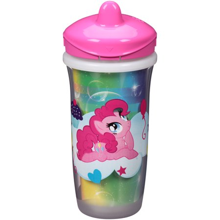 Playtex Sipsters My Little Pony Stage 3 Insulated Spout Sippy Cup 9oz 1-Pack Assorted Patterns