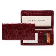 Raika RO 164 MAGENTA Checkbook Cover - Magenta