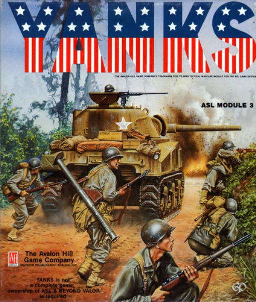 Yanks Used by Avalon Hill