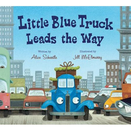 Little Blue Truck Leads the Way (Board Book) (Best Way To Cut Hardie Board Siding)