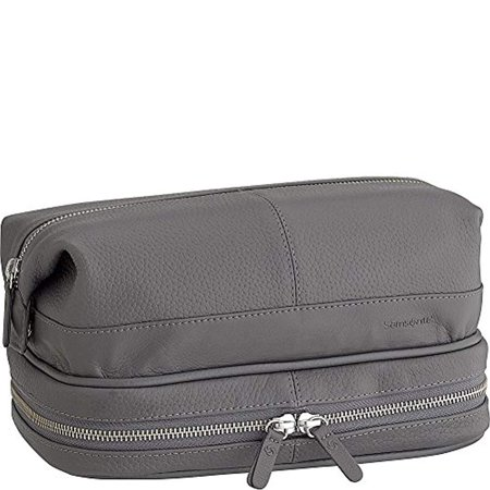 Samsonite- Leather Travel Accessories Serene Leather Toiletry Kit with Travel