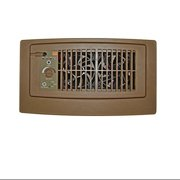 Suncourt Brown Flush Fit Register Air Booster Fan w/ Flush Fit Mount Adaptor