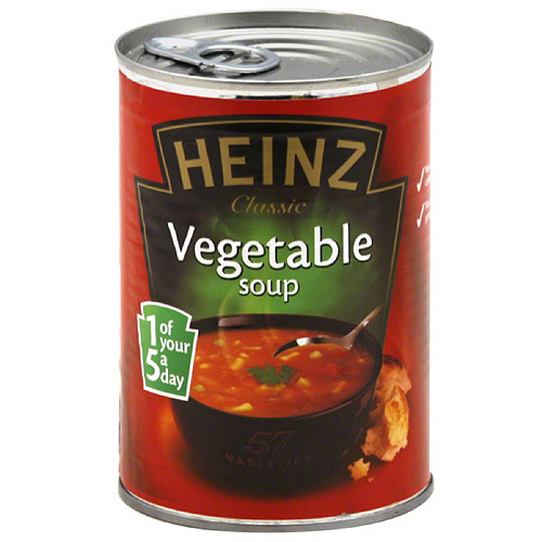 Heinz Classic Vegetable Soup, 14.1 oz, (Pack of 12)