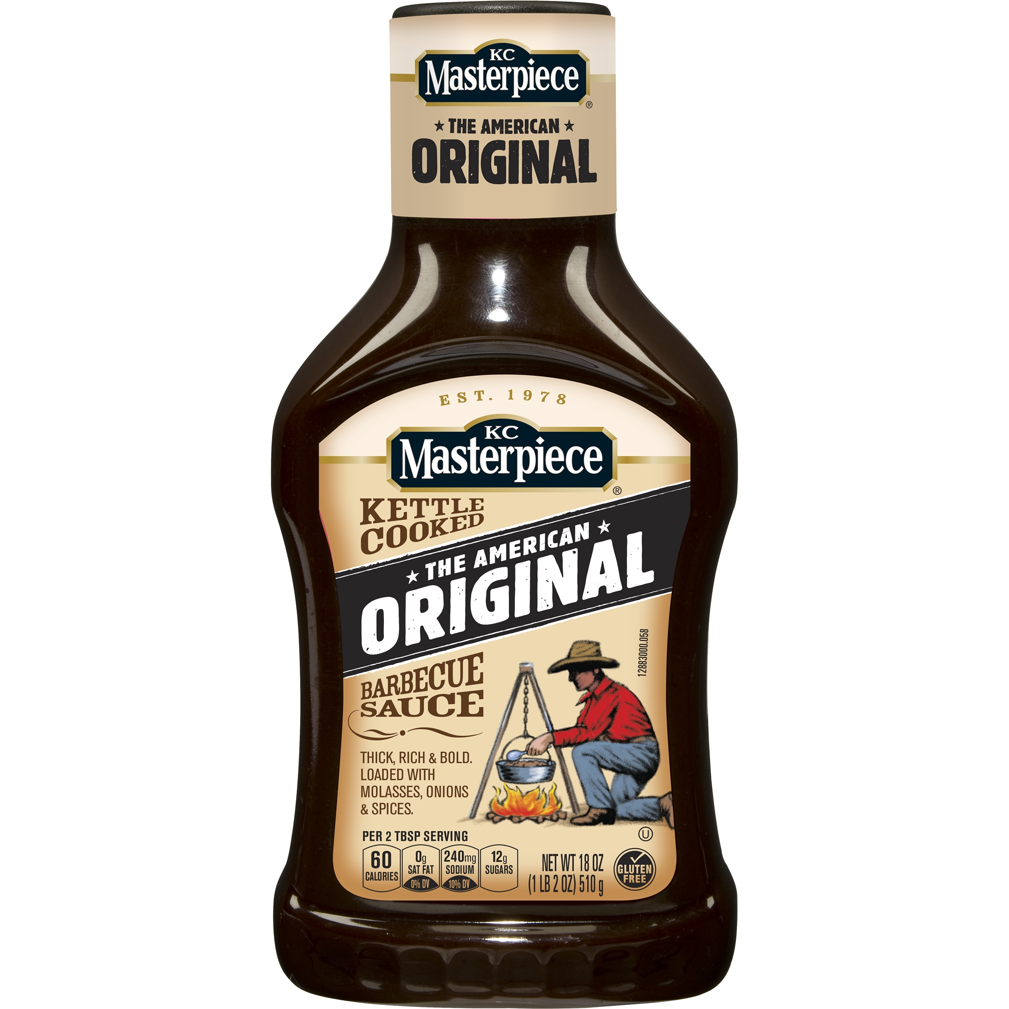 KC Masterpiece Original Barbecue Sauce, 18 oz