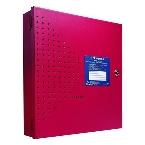 Fire-Lite Alarms Honeywell FCPS24FS6 6 Amp Nac Power Supply